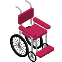 Icon: Wheelchair | Hotel Villa Sevasti