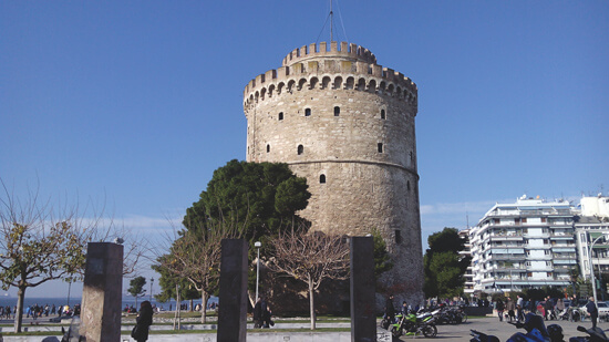 White tower, Thessaloniki | Hotel Villa Sevasti