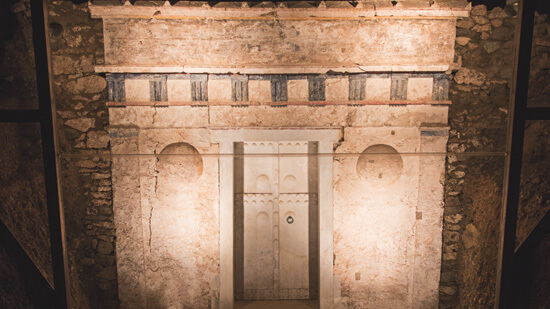 Tomb of Philip II. | Hotel Villa Sevasti